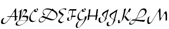 Arabian Regular Font UPPERCASE