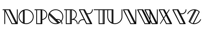 Aracme Waround Light Font UPPERCASE