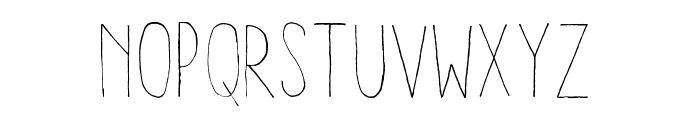 Aracne Condensed Light Font UPPERCASE