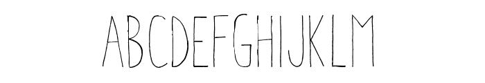 Aracne Condensed Light Font LOWERCASE