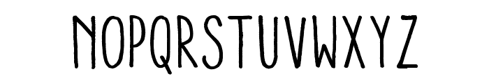 Aracne Condensed Regular Font LOWERCASE