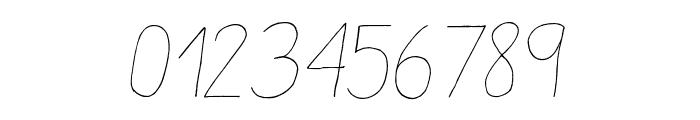 Aracne Light Italic Font OTHER CHARS