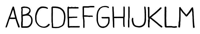 Aracne Regular Font LOWERCASE