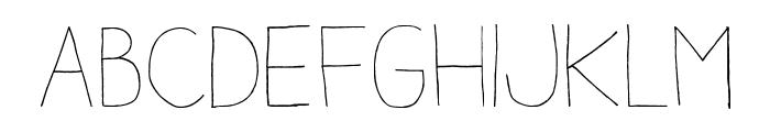 AracneLight Font LOWERCASE