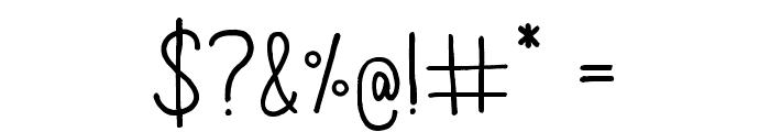 AracneRegular Font OTHER CHARS