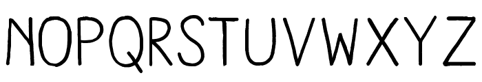 AracneRegular Font LOWERCASE