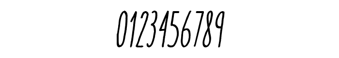 AracneUltraCondensedRegItalic Font OTHER CHARS