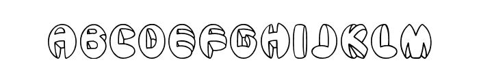Aragon Font UPPERCASE
