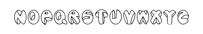 Aragon Font LOWERCASE