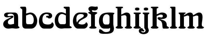 Aralgish Normal Font LOWERCASE