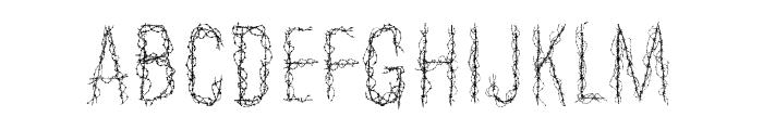 Aramayka Font UPPERCASE