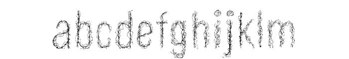 Aramayka Font LOWERCASE