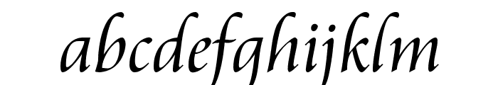Aramis Regular Font LOWERCASE