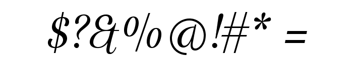 Arapey-Italic Font OTHER CHARS