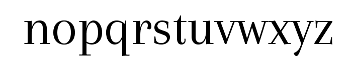 Arapey-Regular Font LOWERCASE
