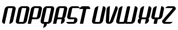 Arbeka  Bold Italic Font UPPERCASE