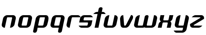 Arbeka  Bold Italic Font LOWERCASE