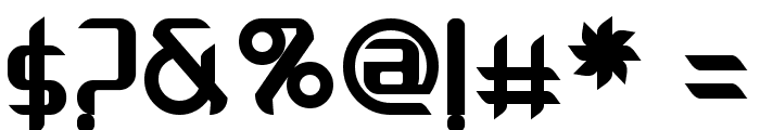 Arbeka  Bold Font OTHER CHARS
