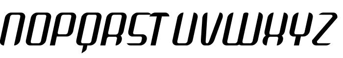 Arbeka  Italic Font UPPERCASE