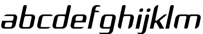 Arbeka  Italic Font LOWERCASE