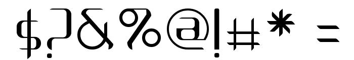 Arbeka  Light Font OTHER CHARS