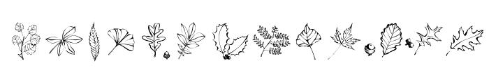 ArborisFolium Font UPPERCASE