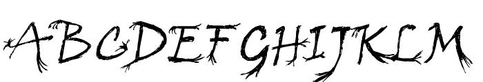 Arbre Regular Font UPPERCASE