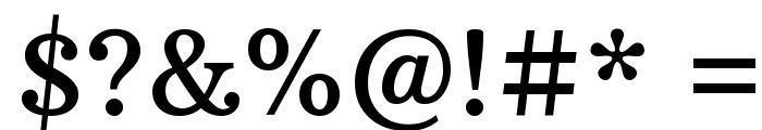 Arbutus Slab Font OTHER CHARS