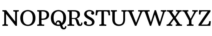 Arbutus Slab Font UPPERCASE