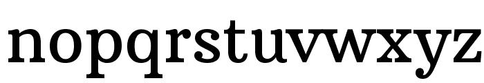 Arbutus Slab Font LOWERCASE