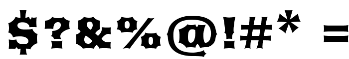 Arbutus Font OTHER CHARS