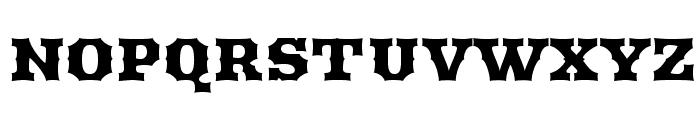 Arbutus Font UPPERCASE