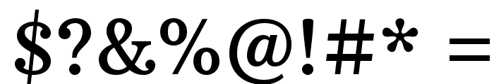 ArbutusSlab Font OTHER CHARS