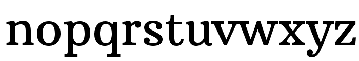 ArbutusSlab Font LOWERCASE