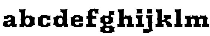 Arbutus Font LOWERCASE