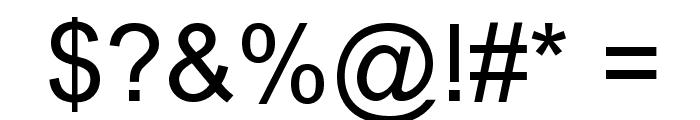 Arbycksazjan Font OTHER CHARS