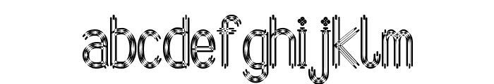Arbycksazjan Font LOWERCASE