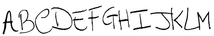 Arcangelo's Words Font UPPERCASE