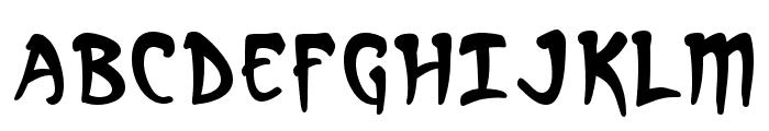 Arcanum Font UPPERCASE