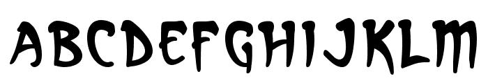 Arcanum Font LOWERCASE