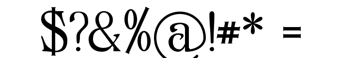 Archaic1897 Font OTHER CHARS