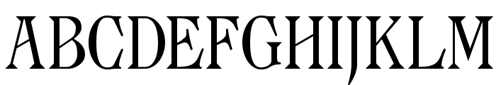 Archaic1897 Font UPPERCASE