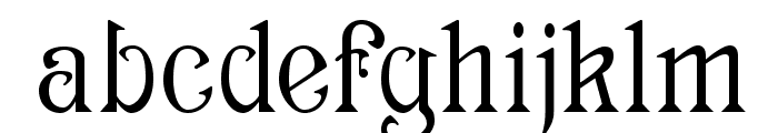 Archaic1897 Font LOWERCASE