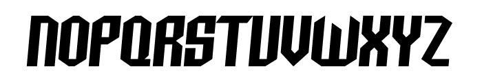 Archery Black Italic Font UPPERCASE
