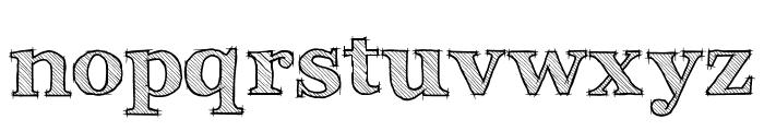 Archistico Bold Font LOWERCASE