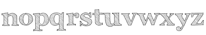 Archistico Normal Font LOWERCASE