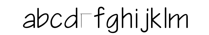 Architect-Bold Bold Font LOWERCASE
