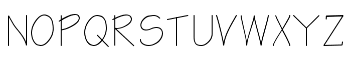 Architect Regular Font UPPERCASE