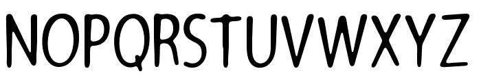 Architects Pen Font LOWERCASE