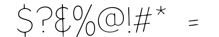 ArchitectsDraft Font OTHER CHARS